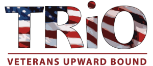 Trio Veterans Upward Bound logo