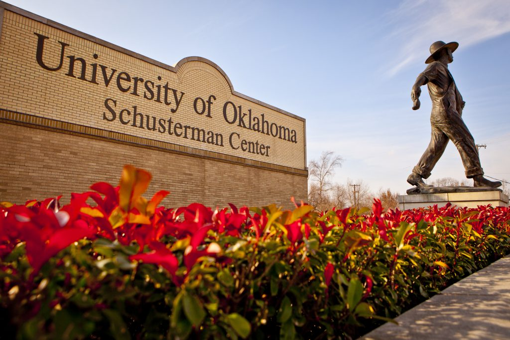 OU Schusterman Center Sign